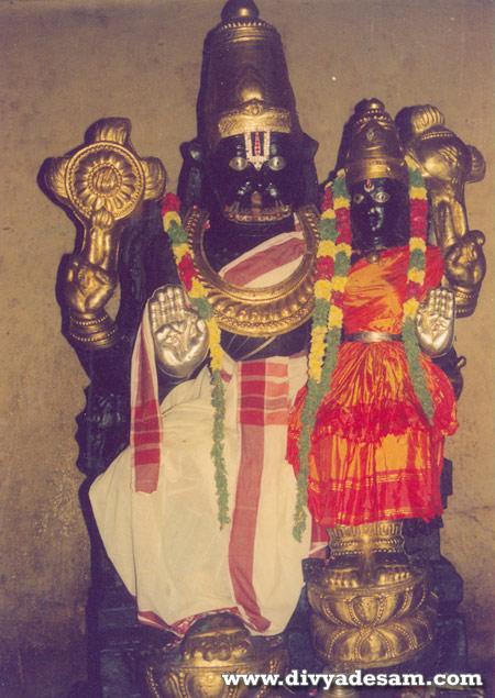 Kaattu Azhagiya Singar, Srirangam